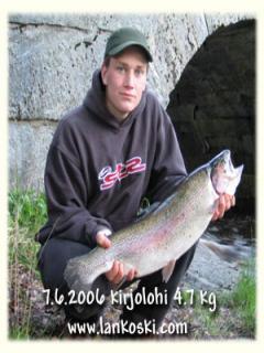 Kirjolohi 4,70 kg
