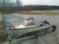 Vihdoinkin vene vesillä... ; )