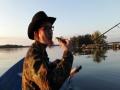 Välillä kalamieskin sekoilee... Pienikin ahven on kaunis ja arvokas kala