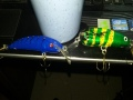 Kaksi vaappua taas valmistunut omasta pajasta. Vasemmalla valmisrungosta väsätty(vanha merimetso) ja oikeella pikku Roine -vaappu(miun tekemä alusta lähtien).