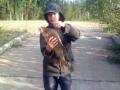 Aika vonkaleen veti poika !! paino n. 1,4kg pituus 38 cm