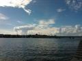 Sienipilvi Lauttasaaren yllä