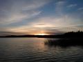 Auringonlasku Karhusaaresta