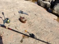 Kivinilkka heitto-ongella