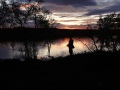 Yökalassa Rautujärvellä (elokuu 2011)