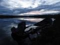 Kalamiehen vene (Rautujärvi, elokuu 2011)