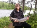 Heinäkuu 2012 ängesjoki 7kg ja uistimella