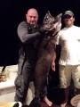 Mikon yönkalastusretken saalista. 45 kg escolar rasposo tai valkotonnikala