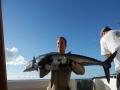 Kalastajan onnen täyttymys.