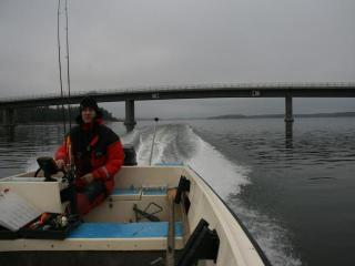 Hauen kalastusta Särkisalossa