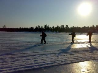 SP-Tiimi Sevettijärvellä