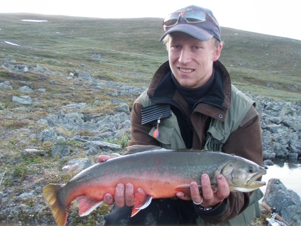 käsivarsi kalastus
