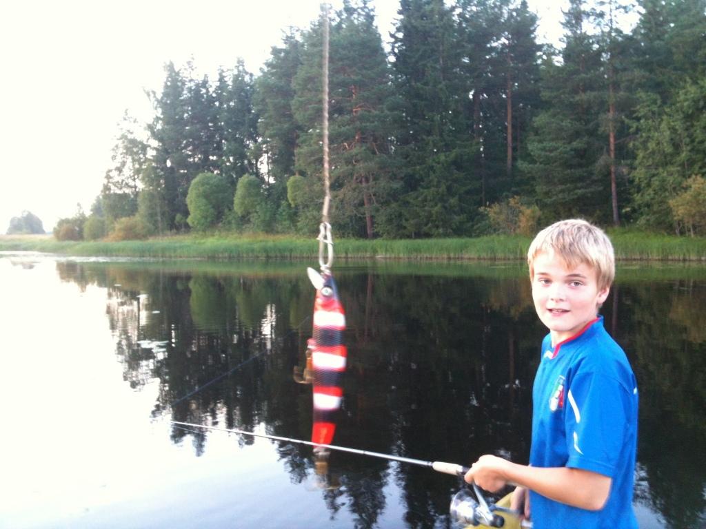 Kalastusta ItzRubetzkin kanssa :)