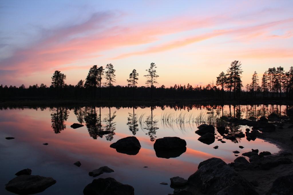 Sevettijärven aurinko!