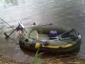 Fish Hunter 250 sähkömoottorilla
