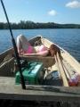 Vetouistelua parhaimmillaan ;) Kaverin veneen testailua.