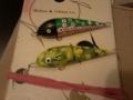 Rainelle taas maalailin värityksiä hänen tekemiin vaappurunkoihin.
