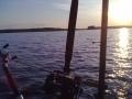 Auringon laskua Saimaalla osa 2