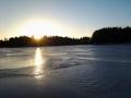 Mahtavat kelit jäällä