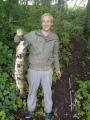 Jokimonni vantaanjoesta vuosi 2011 kalalla oli painoa 6.8 kiloa