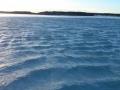 Hieman oli vettä jään päällä kun käytiin pilkillä