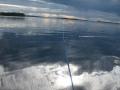 Kalastusta auringon ja sateen rajoilla
