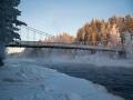 Lieksankoski 11.1.2016, Pielisen järvilohen kotijoki