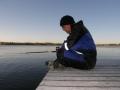 Uimaranta laituri syysahven ongella