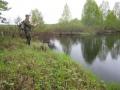 Kalastusta Lietejoella Hyrynsalmi