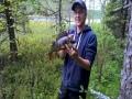 Lammen rannalta käsin nappasi 12cm nils masterin invincibleen 610g ahven :)
