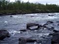 Könkämäenolla kalastusta