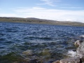Tuuli oli järvellä kova..