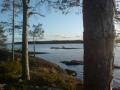 Komea syyskuinen sää sattui samalle päivälle kalareissun kanssa :). Kuva mulkku-saaresta.