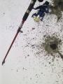 Talven eka pilkkireissu virvelillä :)