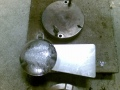 Team Hajoxin valmistamia takilakuulia (4,9 kg)