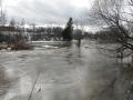 Reilun kolmen kuukauden tauon jälkeen joella heittelemässä.