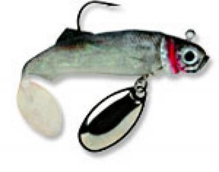 Panfish Spinner Jig, Bluefox